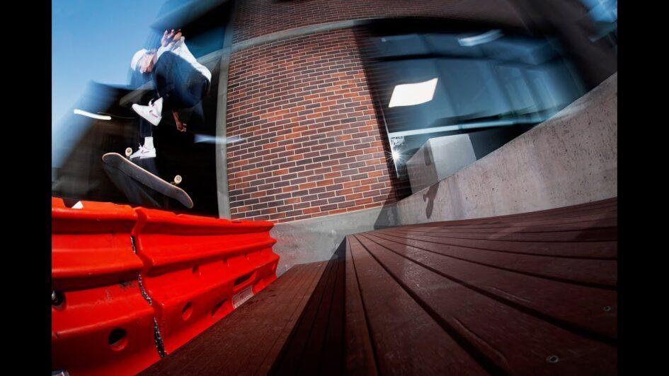 Rowan Davis in «Civic Central»   Girl Skateboards