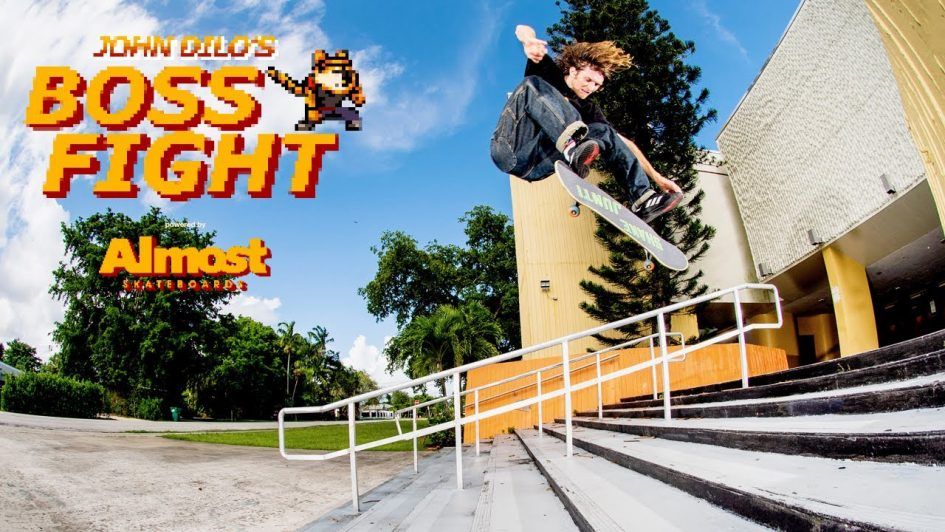 Almost Presents John Dilo's «Boss Fight» Part