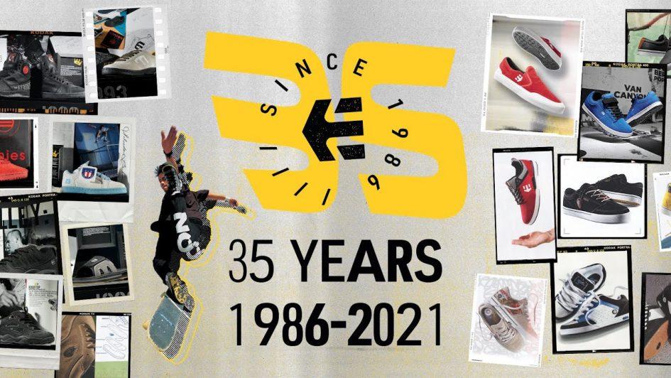 35 YEARS OF ETNIES 1986-2021